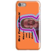 Hey Funky Bunch! iPhone Case/Skin