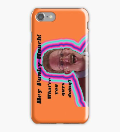 Hey Funky Bunch! iPhone Case/Skin