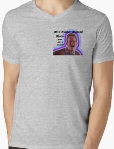 Hey Funky Bunch! Mens V-Neck T-Shirt
