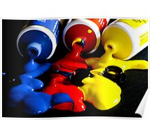 """""""Primary Colours"""" Poster"""