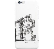 Gas Works Park Pen Sketching iPhone Case/Skin