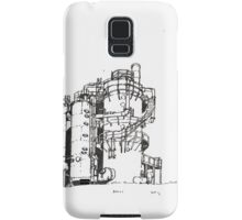 Gas Works Park Pen Sketching Samsung Galaxy Case/Skin