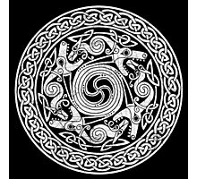 Celtic Pattern 2 (Celts) Photographic Print