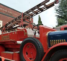 1928 Dennis Fire Engine - Canberra Fire Museum by DashTravels