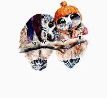 Winter Owls Unisex T-Shirt