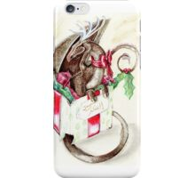 the little red nose dragon iPhone Case/Skin