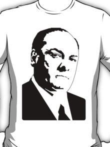 JAMES GANDOLFINI TONY SOPRANO GRAPHIC ART PORTRAIT T-Shirt