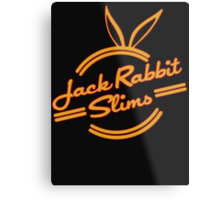 Inspired by Pulp Fiction (Jack Rabbit Slims) Metal Print
