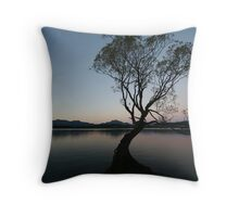 wanaka lake Throw Pillow