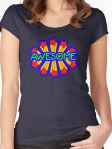 awesome  Women's Fitted Scoop T-Shirt