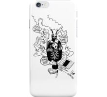 Donnie Darko (White background) iPhone Case/Skin