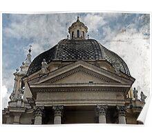 Chiesa di Santa Maria dei Miracoli, Rome, Italy Poster