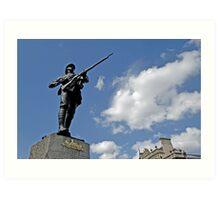 Gloucestershire regiment Boer war memorial, Bristol, UK Art Print