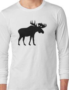 Elk moose Long Sleeve T-Shirt