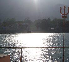 Beautiful Ganges at Rishikesh, India by kanika78