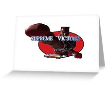 Combo's Supreme Victory! Greeting Card