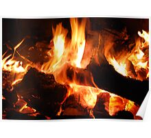 Fire of Gidgee Coals Poster
