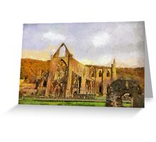 Tintern Abbey, Wales, UK Greeting Card