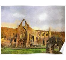 Tintern Abbey, Wales, UK Poster