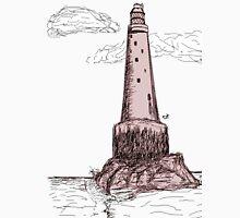 bishop rock, lighthouse  Mens V-Neck T-Shirt