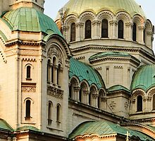St Alexander Nevsky Orthodox Christian Cathedral in Sofia, Bulgaria by atomov