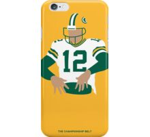 Aaron Rodgers  iPhone Case/Skin