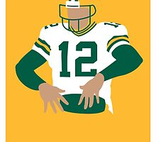 Aaron Rodgers  by BaseballBacks