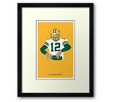 Aaron Rodgers  Framed Print