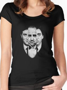 Trilogy - Godfather Women's Fitted Scoop T-Shirt