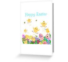 Easter Mayhem Greeting Card