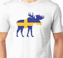 Moose elk Sweden Unisex T-Shirt