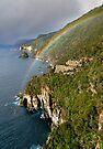 Waterfall Bluff Rainbow by Robert Mullner