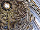 The cupola, St Peter's basilica, Rome, Italy by buttonpresser