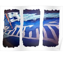Abstract Tryptich Poster