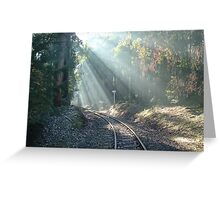 Puffing Billy again Greeting Card