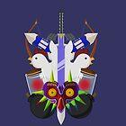 Zelda themed by Eveanon