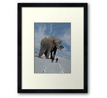 Elemarkhorsaurus from the Epsilon Aurigae Binary Star System Framed Print