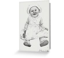 'Mia Grace' Greeting Card
