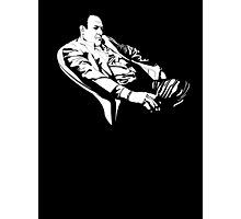Tony Soprano Thinking Photographic Print