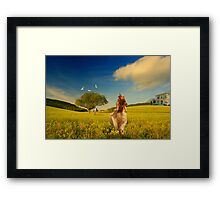 Anything To Get To You... Framed Print