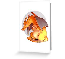 Charizard Art Greeting Card