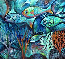 Plenty fish in the sea by Karin Zeller