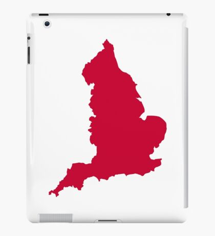 England map iPad Case/Skin