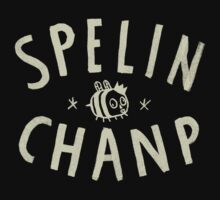 SPELIN CHANP Kids Tee