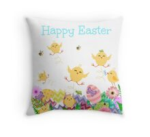 Easter Mayhem Throw Pillow