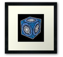 "Tardis ""Siege Mod"" Blue - Doctor Who Framed Print"