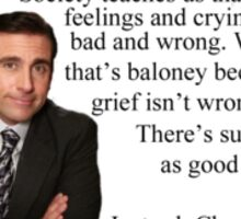 The Office - Michael Scott, Good grief Sticker