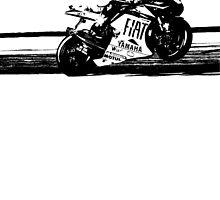 Valentino Rossi by garts