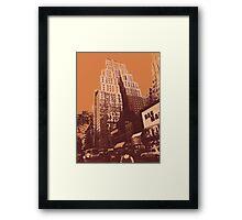 New Yorker, Manhattan New York City Framed Print