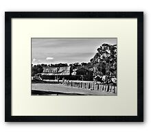 pioneer cottage Framed Print